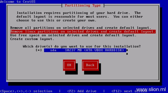 CentOS5.5服务器字符界面/text模式安装 - 10