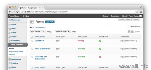应公众所需,特此发放WP User Frontend Pro英文版 - 2