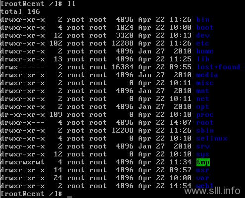 CentOS/Linux基本操作命令学习(上) - 10