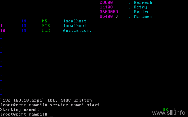 CentOS/Linux域名服务器/DNS配置 - 42