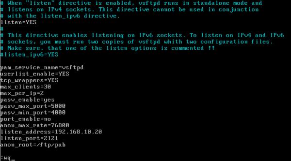 CentOS/Linux VSFTP主被动服务器配置 - 20