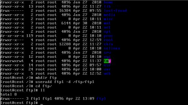 CentOS/Linux VSFTP主被动服务器配置 - 8