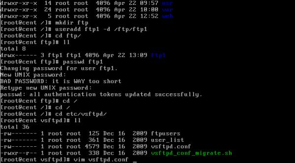 CentOS/Linux VSFTP主被动服务器配置 - 10