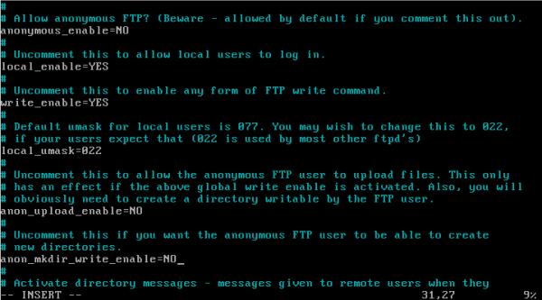 CentOS/Linux VSFTP主被动服务器配置 - 12