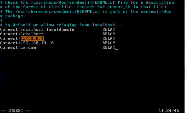 CentOS/Linux配置sendmail邮件服务器 - 6