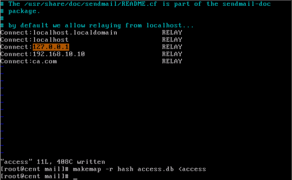 CentOS/Linux配置sendmail邮件服务器 - 8