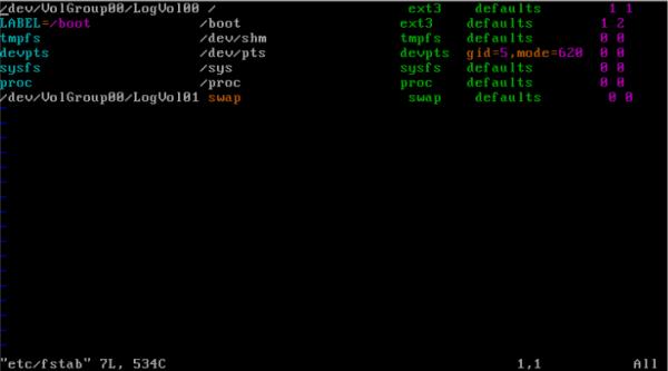 CentOS/Linux 用户磁盘配额 - 2