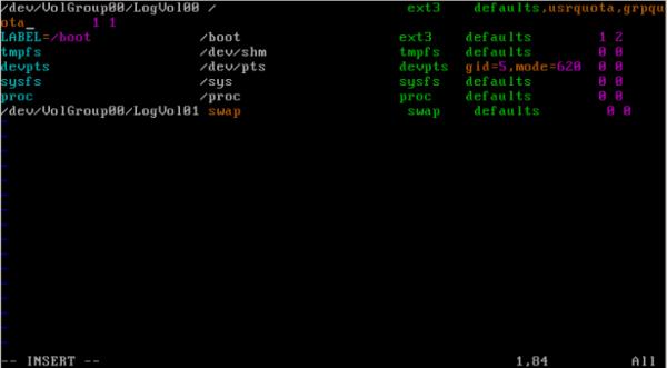CentOS/Linux 用户磁盘配额 - 4