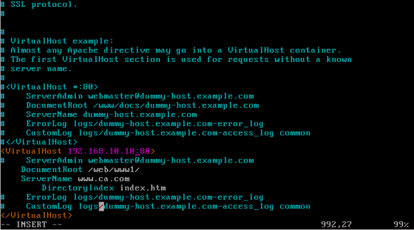 CentOS/Linux HTTPD(WWW)服务器配置 - 6