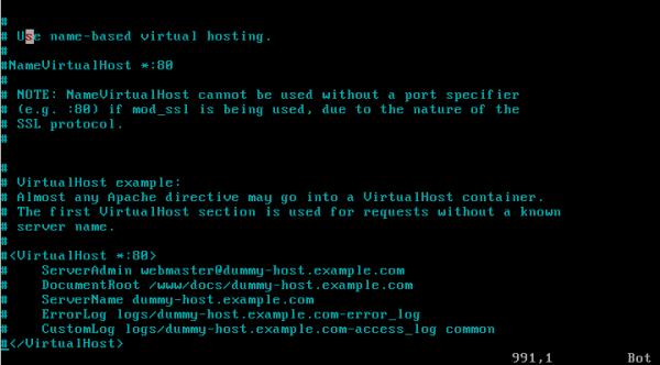 CentOS/Linux HTTPD(WWW)服务器配置 - 4