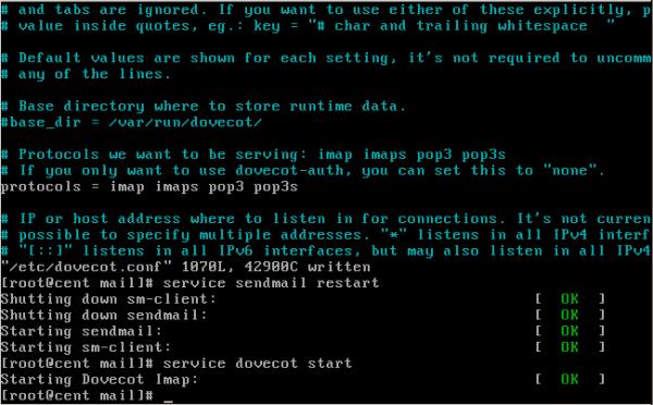 CentOS/Linux配置sendmail邮件服务器 - 14