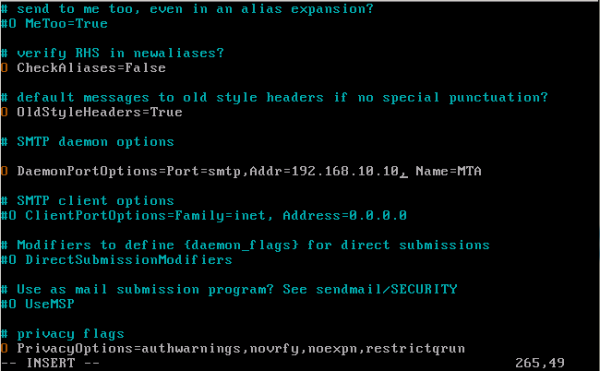 CentOS/Linux配置sendmail邮件服务器 - 4
