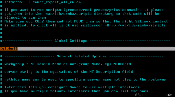 CentOS/Linux Samba共享服务简单配置教程 - 4
