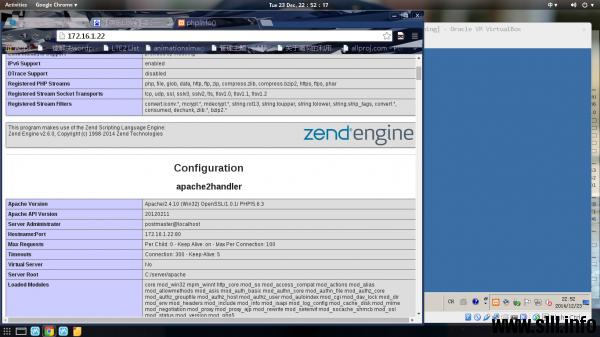 Windows下使用XAMPP搭建LAMP环境 - 2