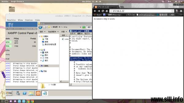 XAMPP配置http和mysql环境搭建博客站点 - 10