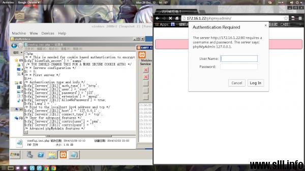 XAMPP配置http和mysql环境搭建博客站点 - 16