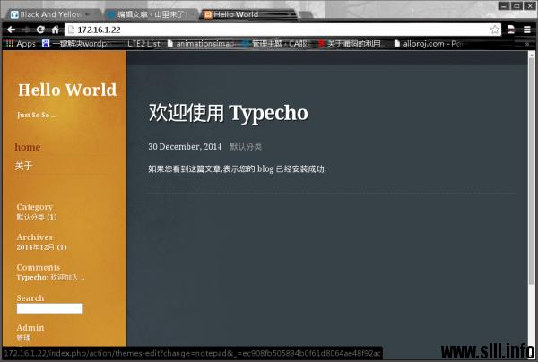 XAMPP配置http和mysql环境搭建博客站点 - 2